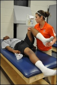 Athletic Trainer at Ft. Benning