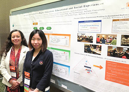 EFLT Grad Students Attend Conference, Receive Recognition