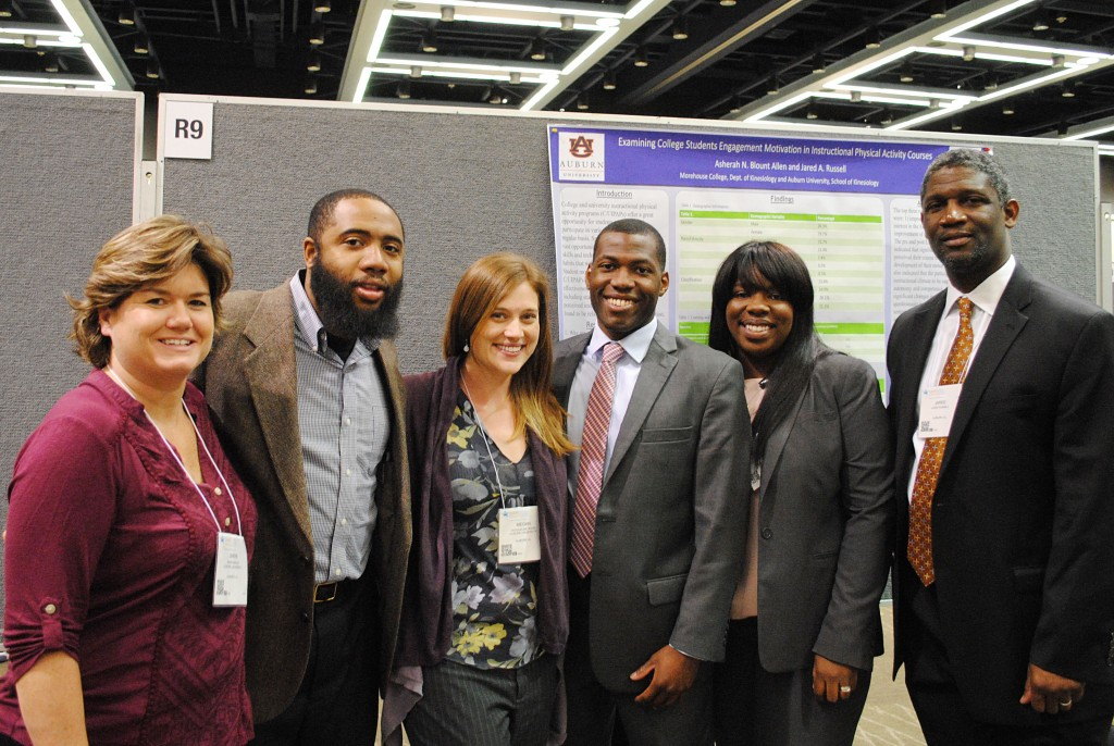 AU faculty, doctoral students, and alumni presenting research
