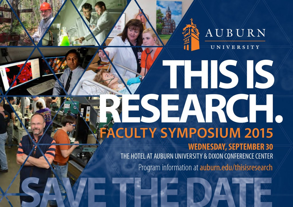 This is Research Faculty Symposium 2015 Poster