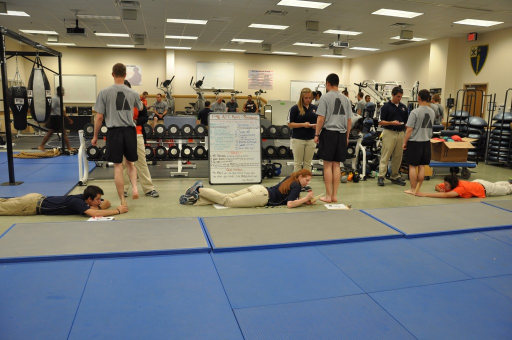 warrior research soldiers training