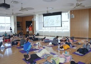 fitness symposium mindfulness session