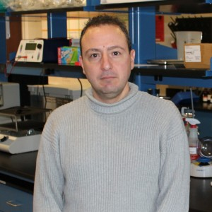 Dr. Andreas Kavazis in Muscle Biochemistry Lab