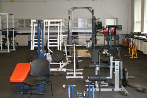 optimization center weight room