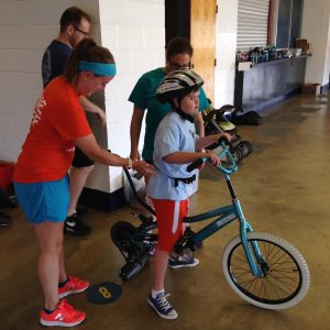 iCanShine bike program