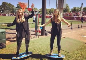 Scarborough and Rutledge on balance boards