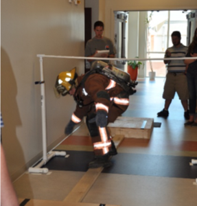 Research on how heat and exercise impact Firefighter balance and functional movement
