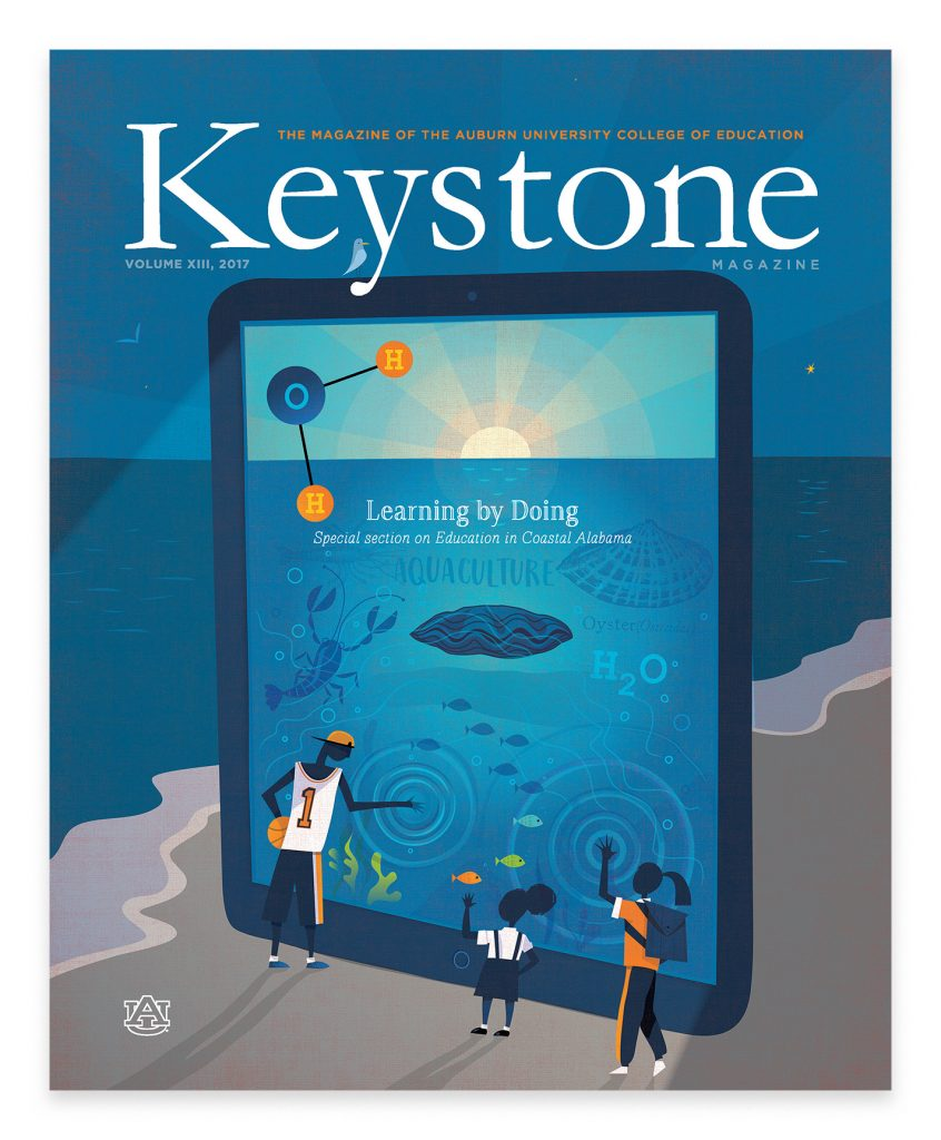 keystone magazine college of education