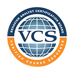 VCS Logo | Behavior Analyst Certification Board; Verified Course Sequence