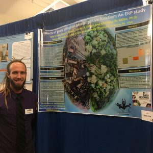 Ford Dyke with research poster
