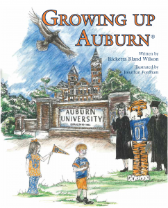 Growing Up Auburn Book Cover