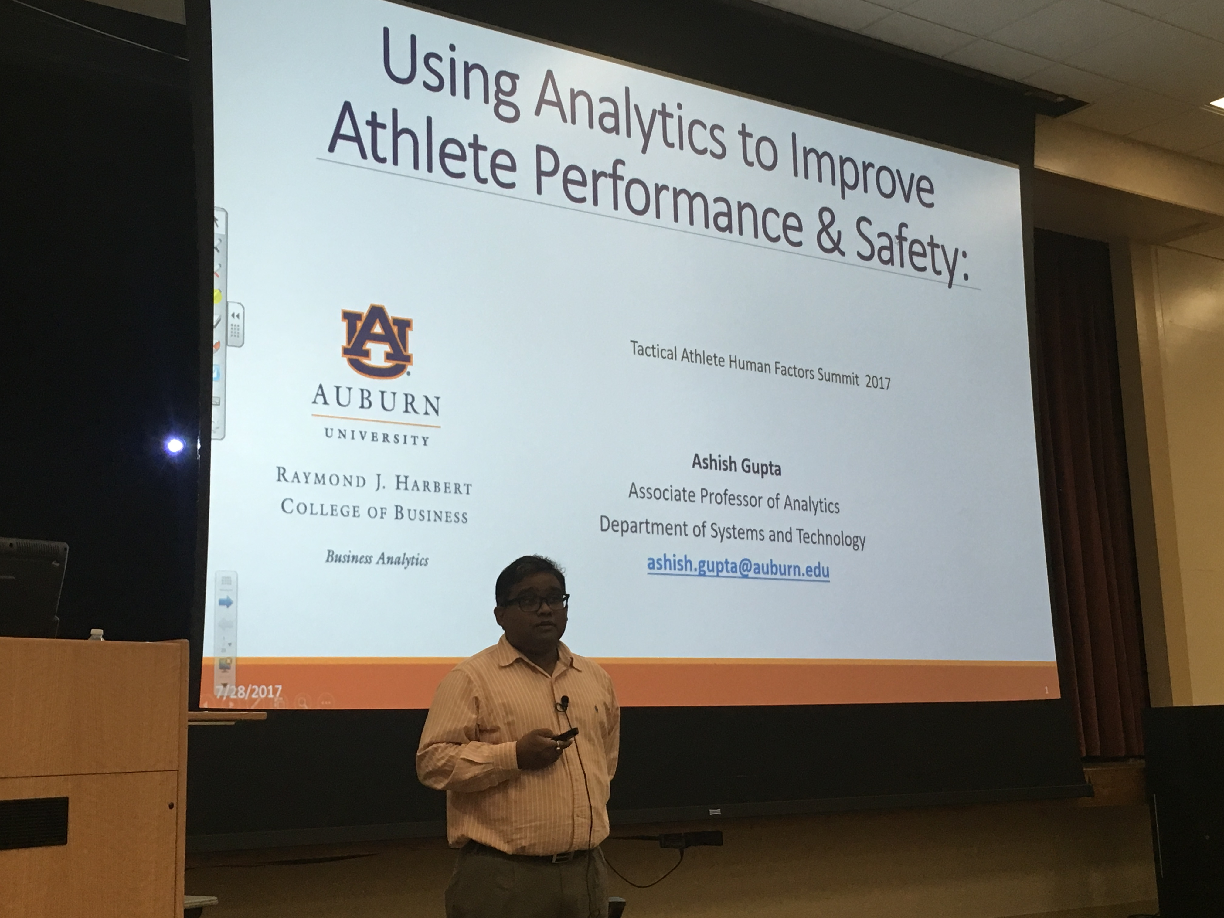 2018 Tactical Athlete Human Factors Summit - College of