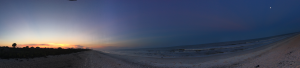 Panoramic Sunset; copyright Ford Dyke, Ph.D. 2018