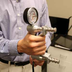 hand grip strength measurement device