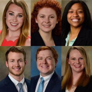 Head shots | From left to right: Katie Corona, Sarah Dolinger, Sierra Jacobs, Jacob Stotser, Mac McLaughlin, Victoria Zona.