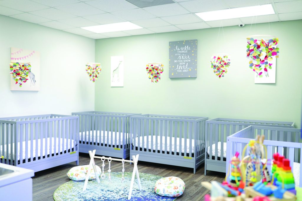 Vinehouse Infant Room with Cribs
