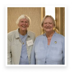 Jane Moore and Betty Lou Whitford